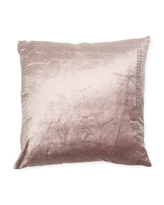 Velvet Studded Pillow
