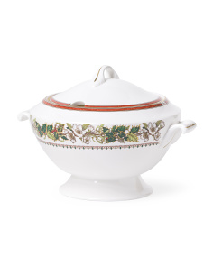 Christmas Rose Soup Tureen