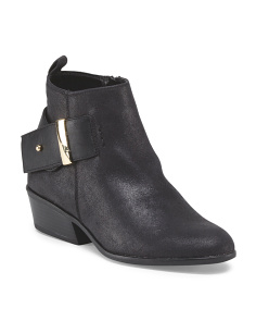 Bootie With Back Buckle