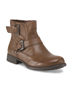 Leather Blevins Bootie