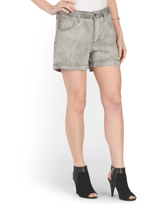 Made In Italy Lambskin Faye Short