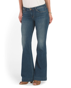 Made In USA Love Story Flare Jean