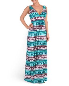 Gypsy Cover-Up Maxi Dress