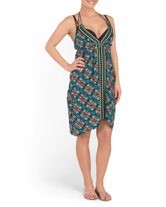 Paloma Halter Cover-Up Dress