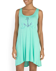 Anchor Sundress Cover-Up