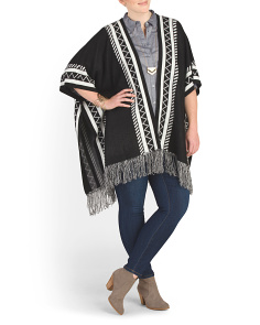 Plus Fringe Cape