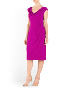 Valli Cap Sleeve Day Dress