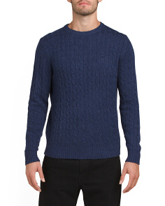 Cashmere Basic Crew Sweater