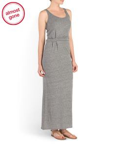 Eco Jersey Drape Weekend Dress