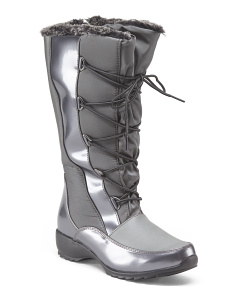 High Shaft Lace Up Boot