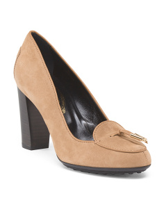 Made In Italy Suede High Heel Pump