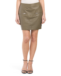 Leather Copenhagen Designer Chansie Skirt
