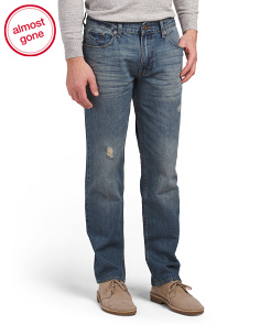Crusher Denim Slim Jeans
