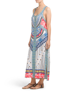 Juniors Printed Midi Dress