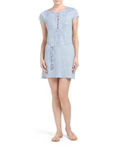 Linen Dimitra Knit Dress