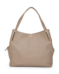 Leather Ike Tote