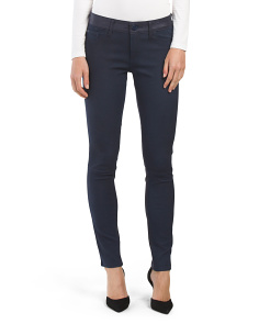 Instasculpt Skinny Leather Back Pant