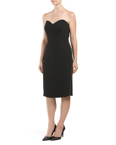 Made In USA Marta Strapless Dress