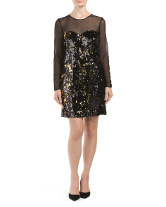 Made In USA Sequined Dress