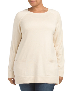 Plus Crew Neck Tunic