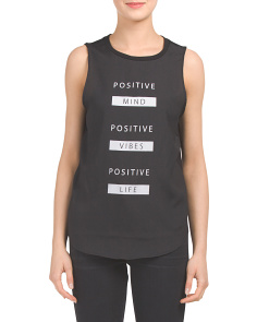 Juniors Positive Mind Tee