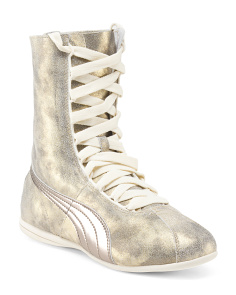 Eskiva High Metallic Sneaker