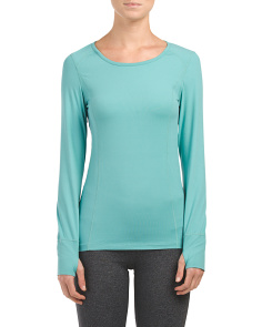 Cloud Nine Scoop Neck Base Layer Top