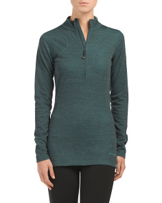 Thermawool Half Zip Base Layer Top