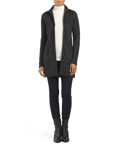 Long Sleeve Full Zip Cardigan