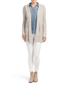 Cashmere Long Sleeve Cardigan
