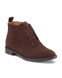 Laceless Desert Booties