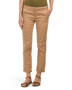 Juniors Roll Cuff Chino Pant