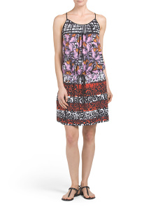 Made In USA Floral Fields Dress