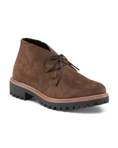 Made In Italy Suede Chukka