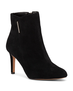 Wrap Side Suede Shooties