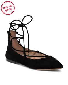 Gilly Suede Ballet Flats