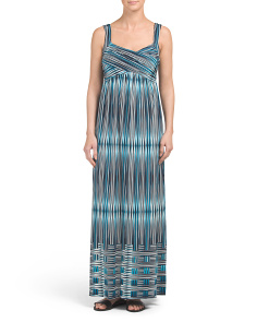 Basket Weave Maxi Dress