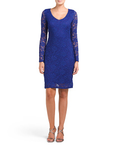 All Over Lace Stretch Dress