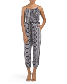 Jumpsuit With Jogger Bottom