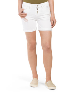 Stack Button Bermuda Short