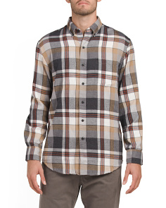 Hyannis Plaid Button Down Shirt