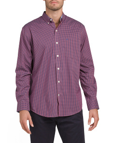 Advantage Gingham Button Down Shirt
