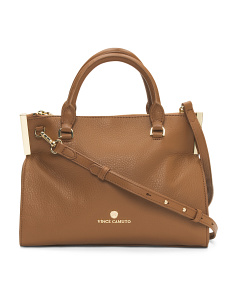 Tina Leather Satchel