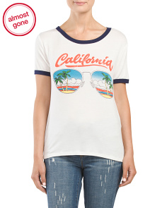 Juniors California T Shirt