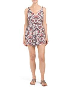 Open Back Braided Strap Kaur Romper
