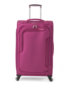28in Megalite Bold Expandable Suitcase