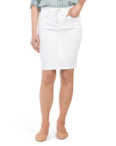 Made In USA The Stiletto Destructed Pencil Skirt