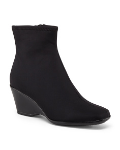 Scuba Stretch Booties With Zipper