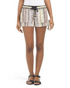 Juniors Tie Waist Baja Short