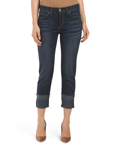Morgan Slouchy Straight Jean